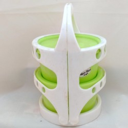 Green tiffin with 2 glass bowl